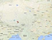lhasa-kaart
