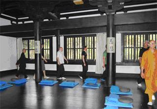 Drie Dagen Chan (Zen) Oefeningen, de schok van eenvoudig, ernstig en stil