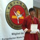 De Wushu kampioenschap 2012 in Tubingen, Duitsland