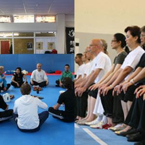 Zan (Chan) meditatie met Chinese thee cursussen in 2013