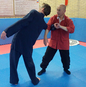 Workshop van Tai Chi Quan applicatie op 6 juli 2013
