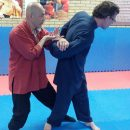 Weekend training met Tai Ji pushing hand op zondag 26 jan 2014