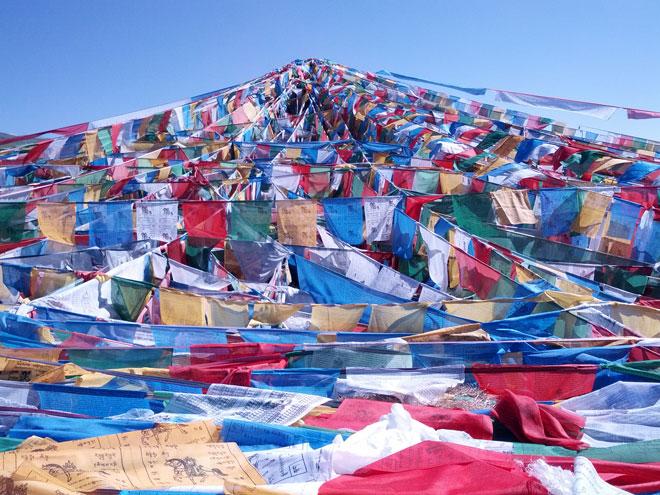 Foto's van de reis naar Tibet met de Jing Wu groep in juli en augustus 2013