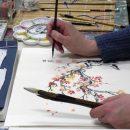 Zesdaagse zomercursus tekenen, schilderen en meditatie 22 – 27 augustus 2016